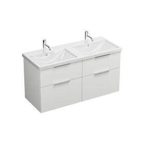 Keramik-Waschtisch inkl. Waschtischunterschrank SEYT123 ...